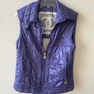 CHANEL winter vest